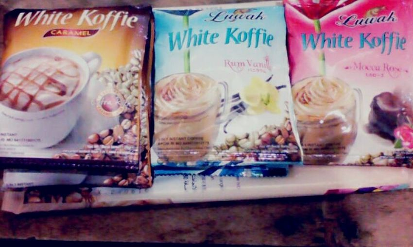 A White coffe ? Caramel , Rumvanilla and Moccarose