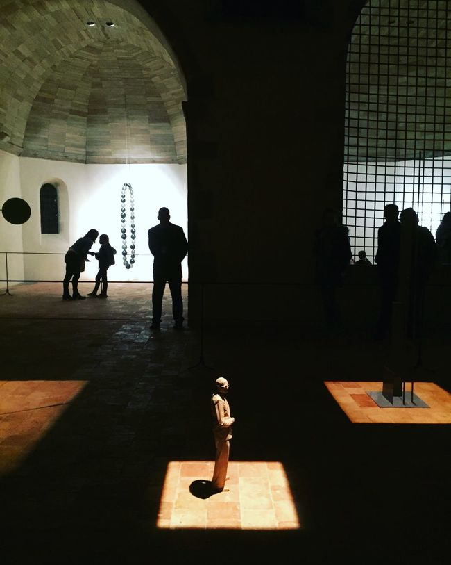 Art Art Inspection Light And Shadow Silhouettes