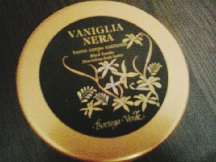 Relaxing Vanilla Vanillacream Corporal Nutriente Black Vanilla BottegaVerde Bottega Verde