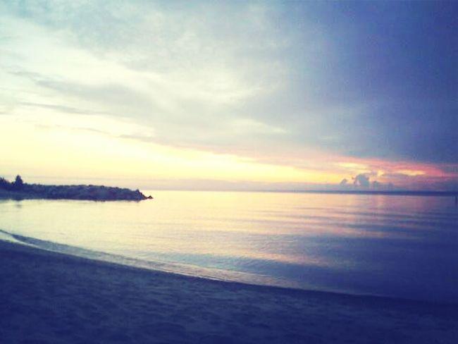 Beach Sunrise Lake Michigan Cuddling Lake Bluff