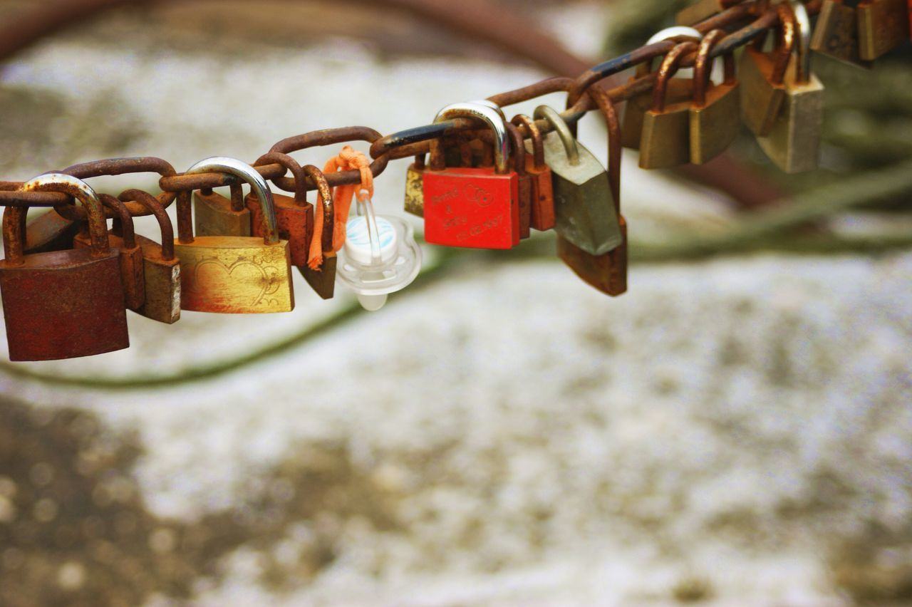 Affectionate Belief Bridge - Man Made Structure Close-up Faith Focus On Foreground Hanging Heart Shape Hope Hope - Concept Lock Locked Love Love Lock Luck Metal Padlock Protection Railing Romance Safe Safety Security Symbol Trust