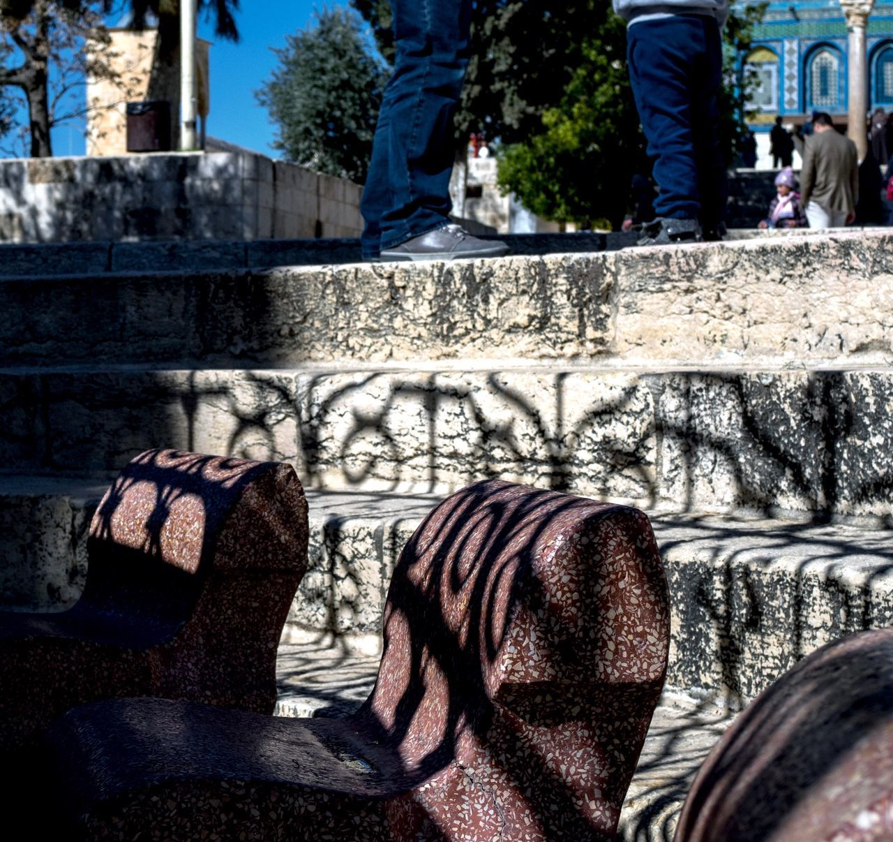 The City Light Jerusalem Israel Al-Aqsa Mosque Tempel Berg LightandshadowOutdoors Day Building Exterior Architecture Adult People Low Section Feet Fountain Ornaments Grid Holy Place Tourists Israelgram Shadows Beautiful Shadow Chasing Light Afterlight Light