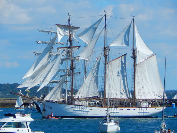 Adventure Club Blue Boat Brest Brest2016 Cloud Cloud - Sky Day Event France Harbor Mast Mode Of Transport Mountain Nature Nautical Vessel No People On The Way Outdoors Sailboat Sailing Sea Ship Sky Water