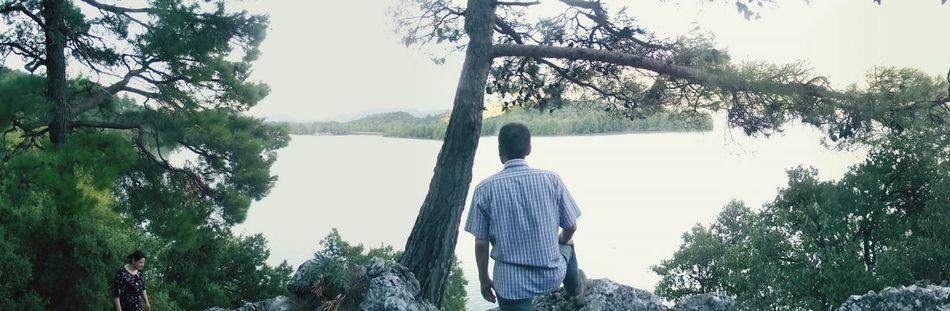 Kovada Lake ısparta Panoramic Beauty In Nature Tree Turkey TreePeople And Places Family Fun