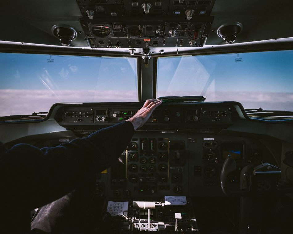 Beautiful stock photos of wolken, Aerospace Industry, Air Vehicle, Airplane, Cloud - Sky