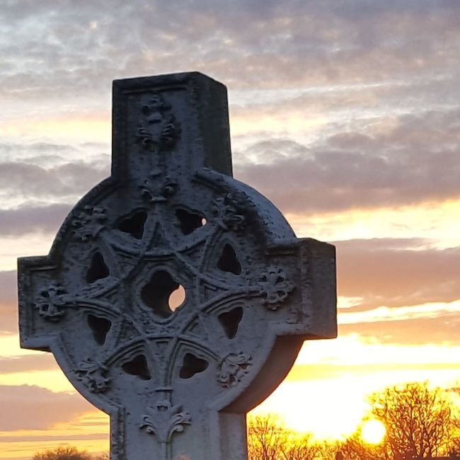 Cemetery Cemetery And Sundown Sunset Graveyard Graveyard Sunset Nofilter