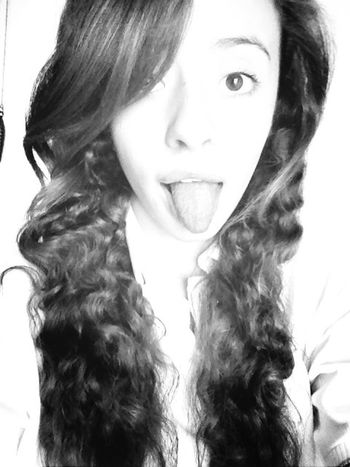 Blackandwhite Curly Hair! ThatsMe