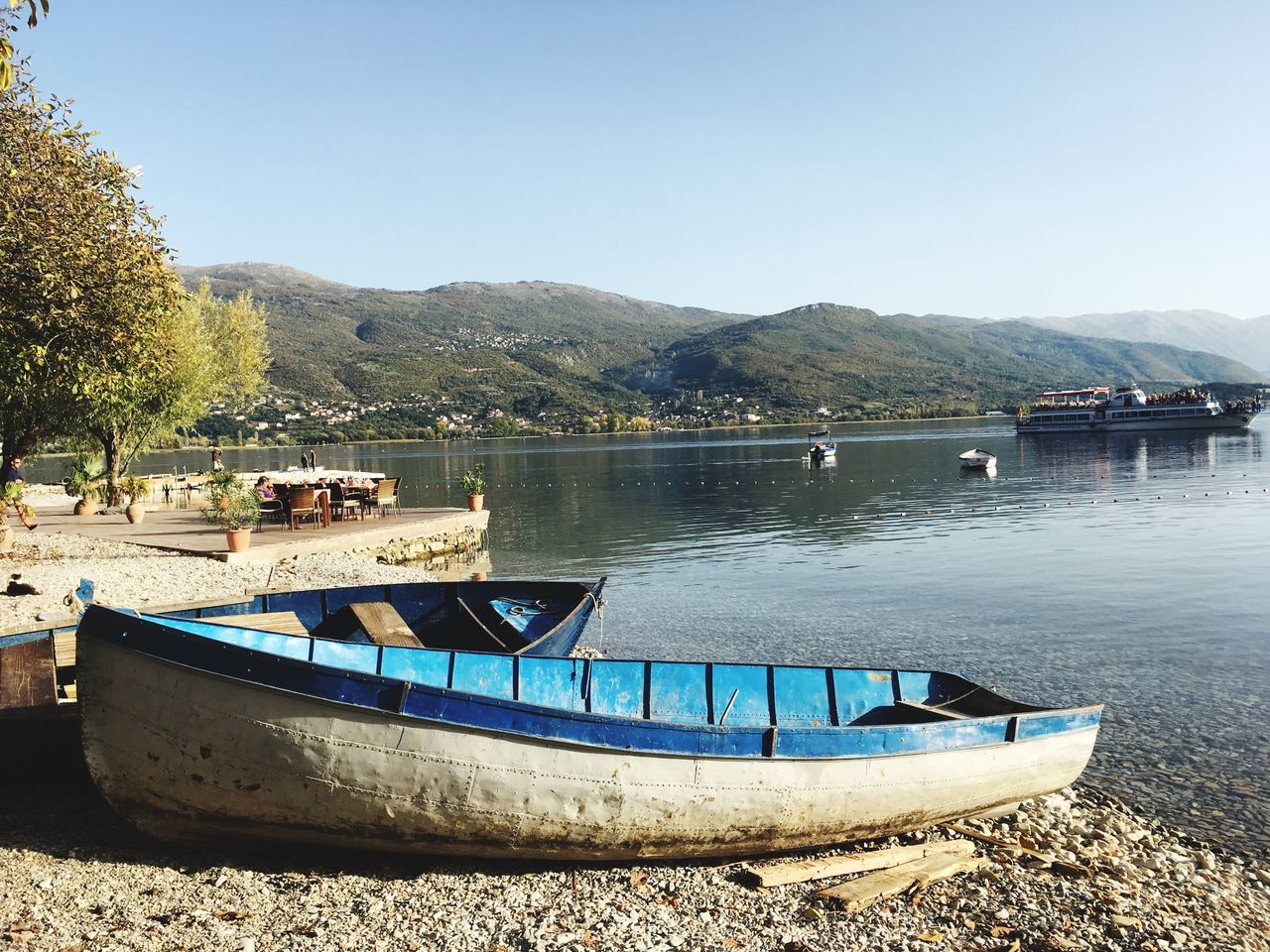 Ohrid lake Beauty In Nature Lake View