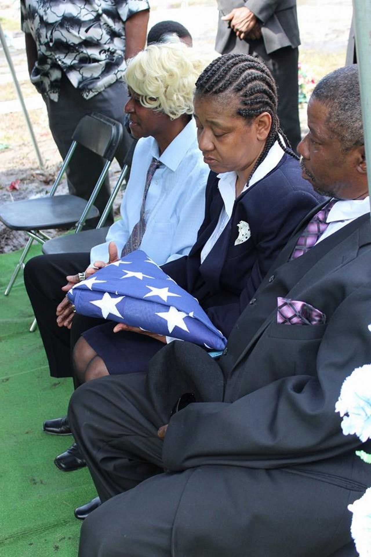 an american funeral. American American Flag American Funeral American Funeral. Cemetery Ceremony Country Daughter Of A Soldier Day Family Funeral Group Of People Men Outdoors Pride Sad Sadness Soldiers Solemn Somber South South Carolina Southern Women The Portraitist - 2017 EyeEm Awards