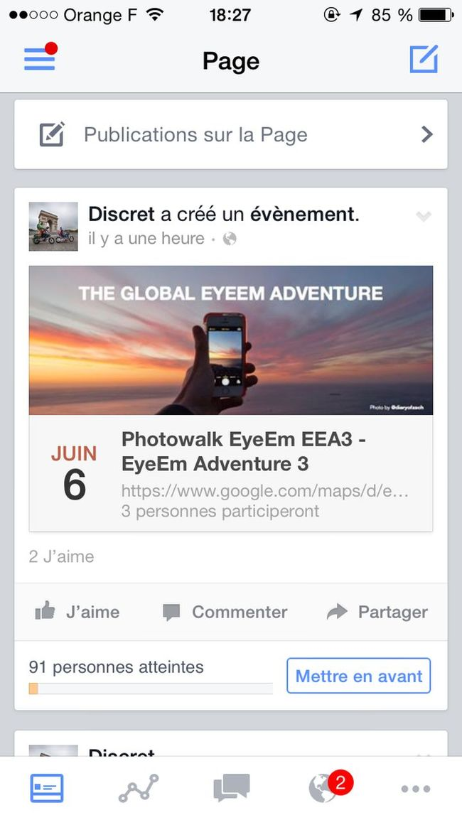 https://www.facebook.com/events/728585937252564/ The Global EyeEm Adventure EEA3-Paris
