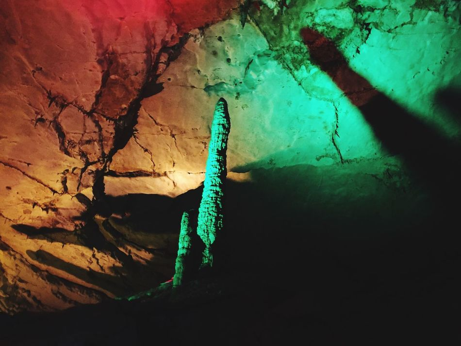 Huanglong Cave China Caves Rocks Rock Formation Lights Colors Underground HuangLongCave Huanglongdong Zhangjiajie China Travel 43 Golden Moments Shadows Colour Of Life Eyeemphoto Two Is Better Than One
