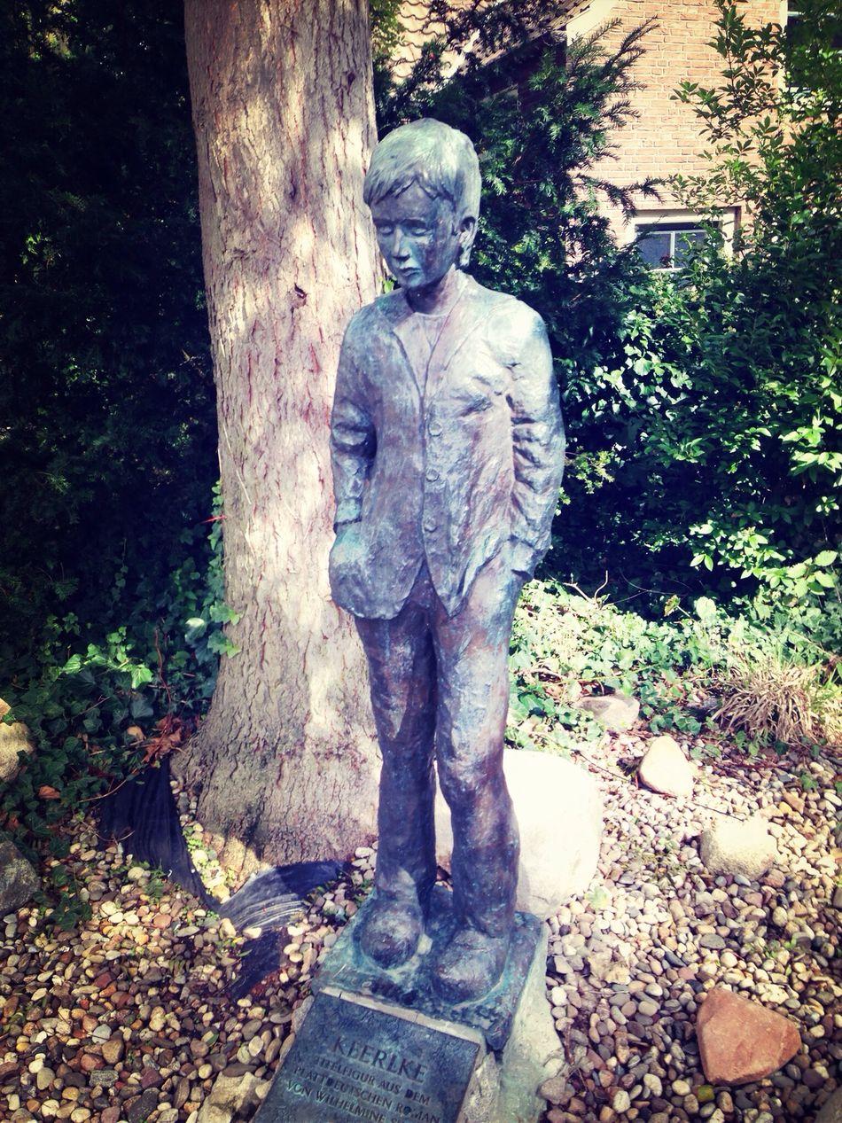 Old Boy Statue