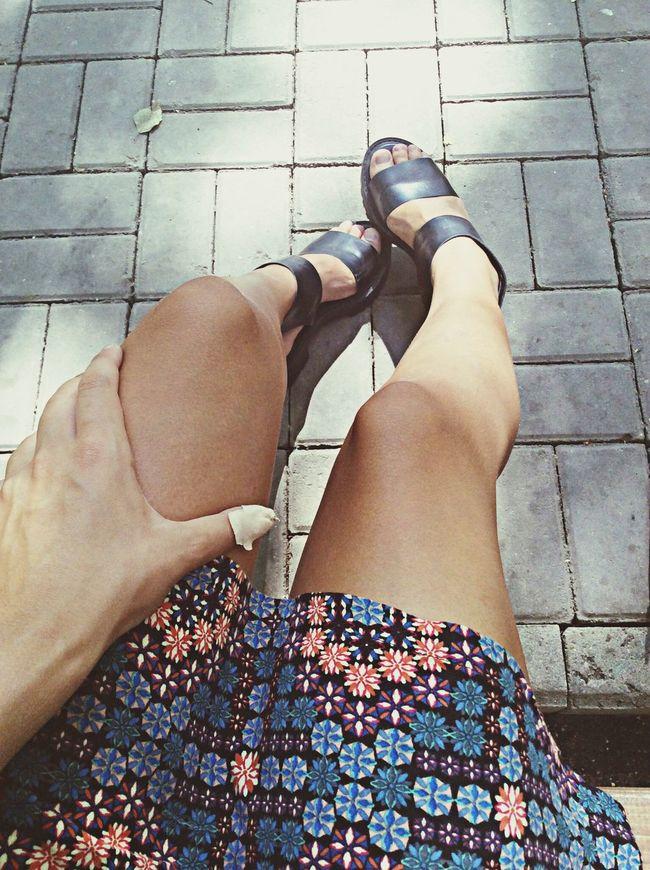 Hot day☀️ Walking Around Summer ☀ Tumblr Girl Relaxing