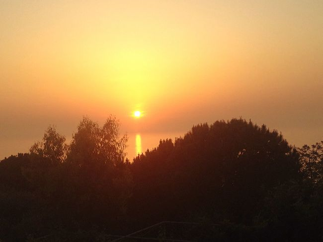 Sunset Lebanon East Mediterranean