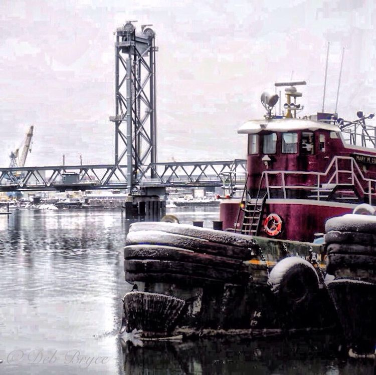 Majestic Moran tugs moored on Ceres Street. Moran Tugboat Portsmouth NH IPhoneography New England  NH Seacoast Piscataqua River EyeEm Best Shots