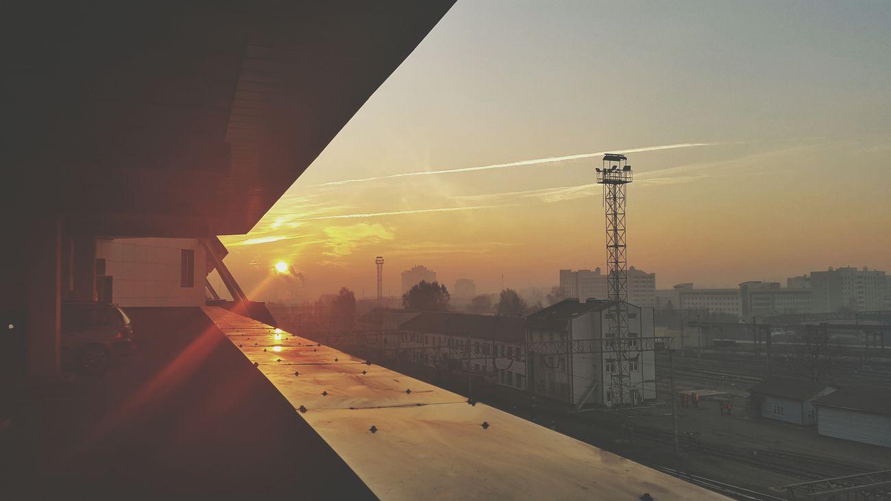Goodmorning Morning Sun Orange