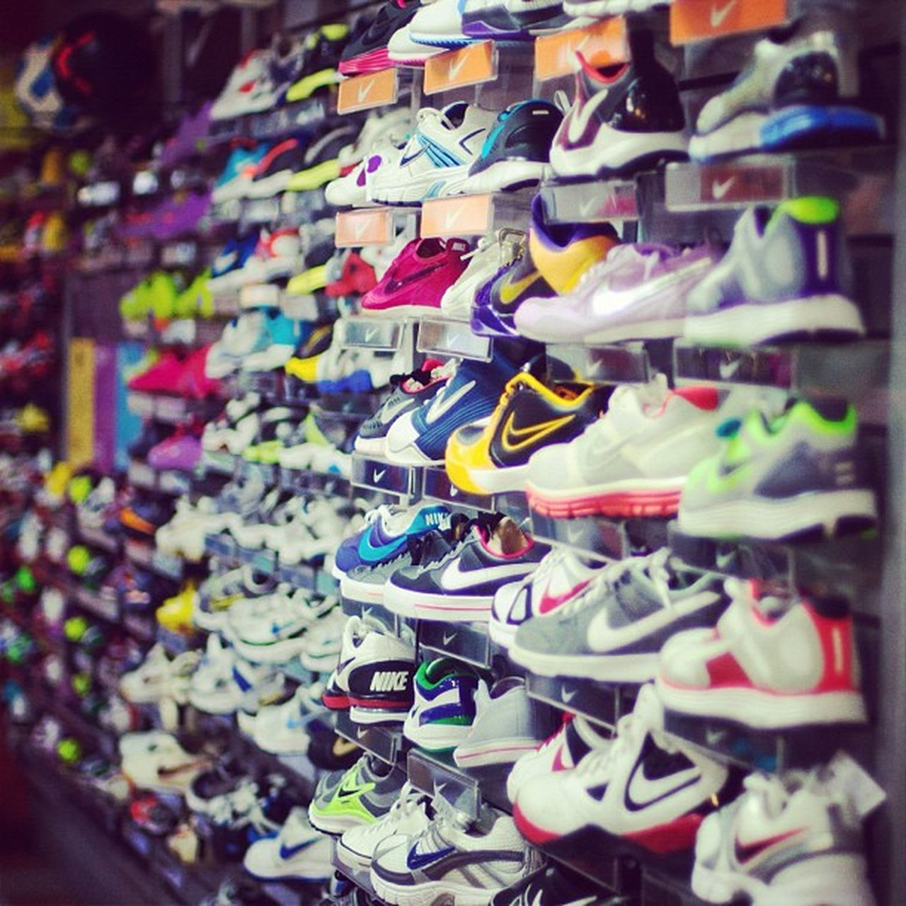 retail, variation, for sale, store, large group of objects, abundance, in a row, shoe, multi colored, fashion, choice, display, no people, consumerism, shelf, collection, market, hanging, business, indoors, day