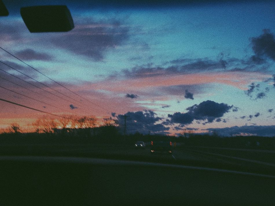 Sunset CarRides Cloud - Sky Tranquility Scenics Sky Dusk First Eyeem Photo