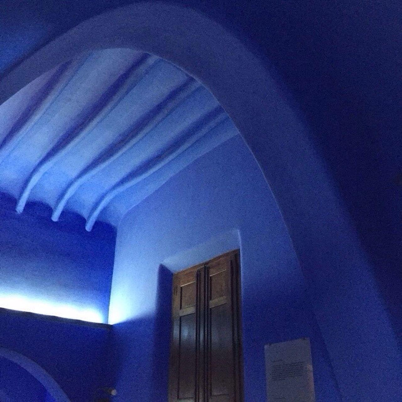 Parcguell Bluewalls Built Structure Architecture