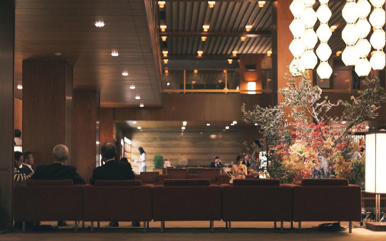 Hotel Okura 2015 Historical Building History Hotel Hotel Lobby Illuminated Indoors  Interior Design Japan Japanese Culture Lifestyles Lights Lobby Lounge Men Okura Hotel People Real People Shadows & Lights Sofa Still Life Tokyo