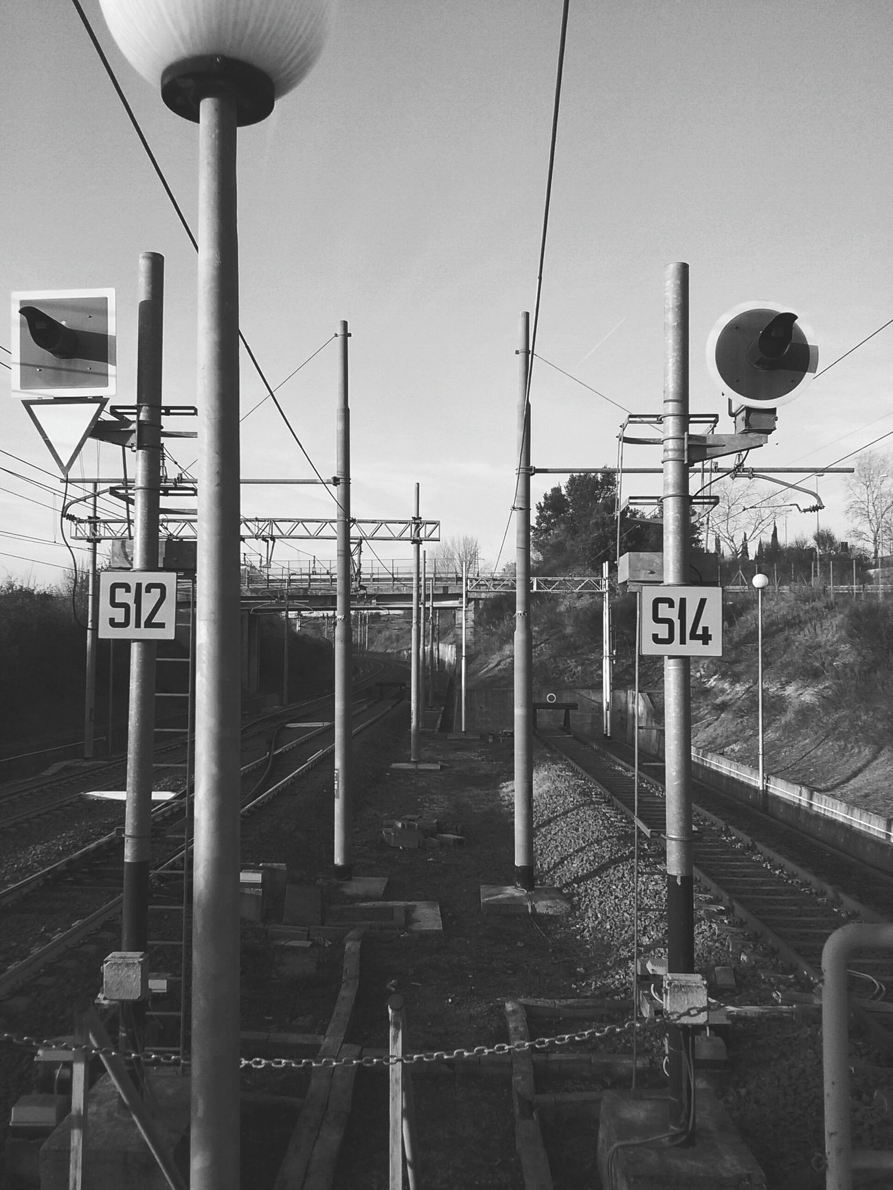 Station Montebello Grunge Urban Blackandwhite Photooftheday