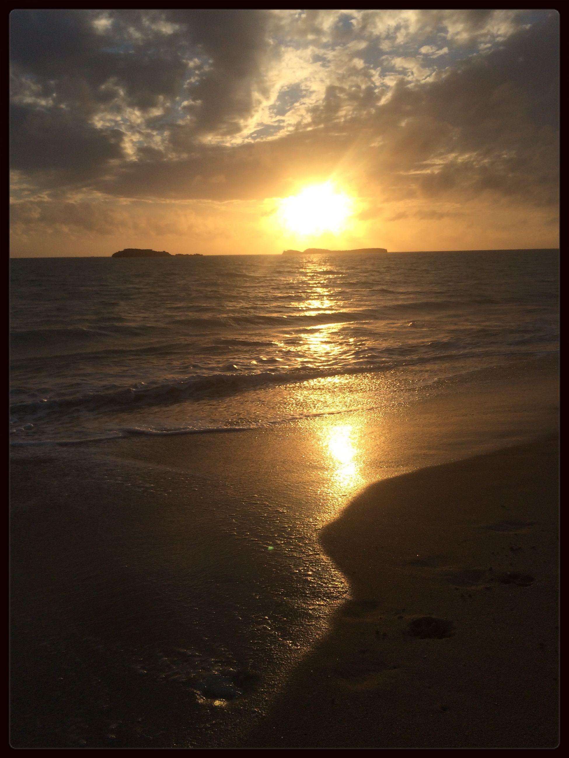 WesternAustralia Beautiful Sunset Shoalwater