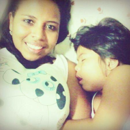 Hoje vou dormir de costela com ela. O Amor da minha vidinha, irmã linda! *-* Boa noite! Perola Irma Amorperfeito MeuAmorTodaHora