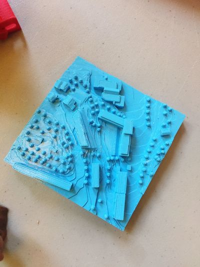 EyeEm Selects 3d Printing High Angle View Table Blue Paper No People Indoors  Close-up Day Skaperfestival