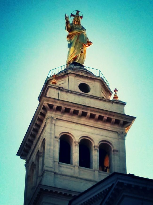 Campanile Cristoredentore Viamarsala BasilicaSacroCuorediGesù Luoghi Sacri