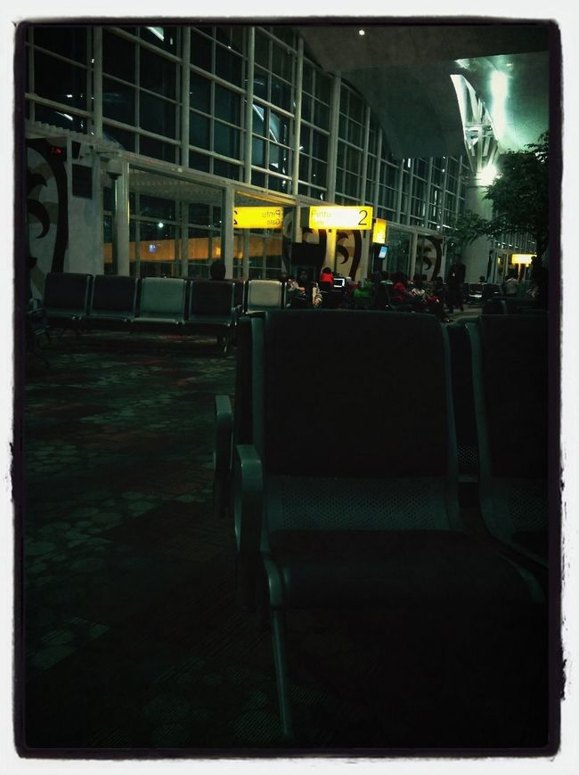 Kualanamu Airport waiting on the gate 2 . Happy Weekend all ^^