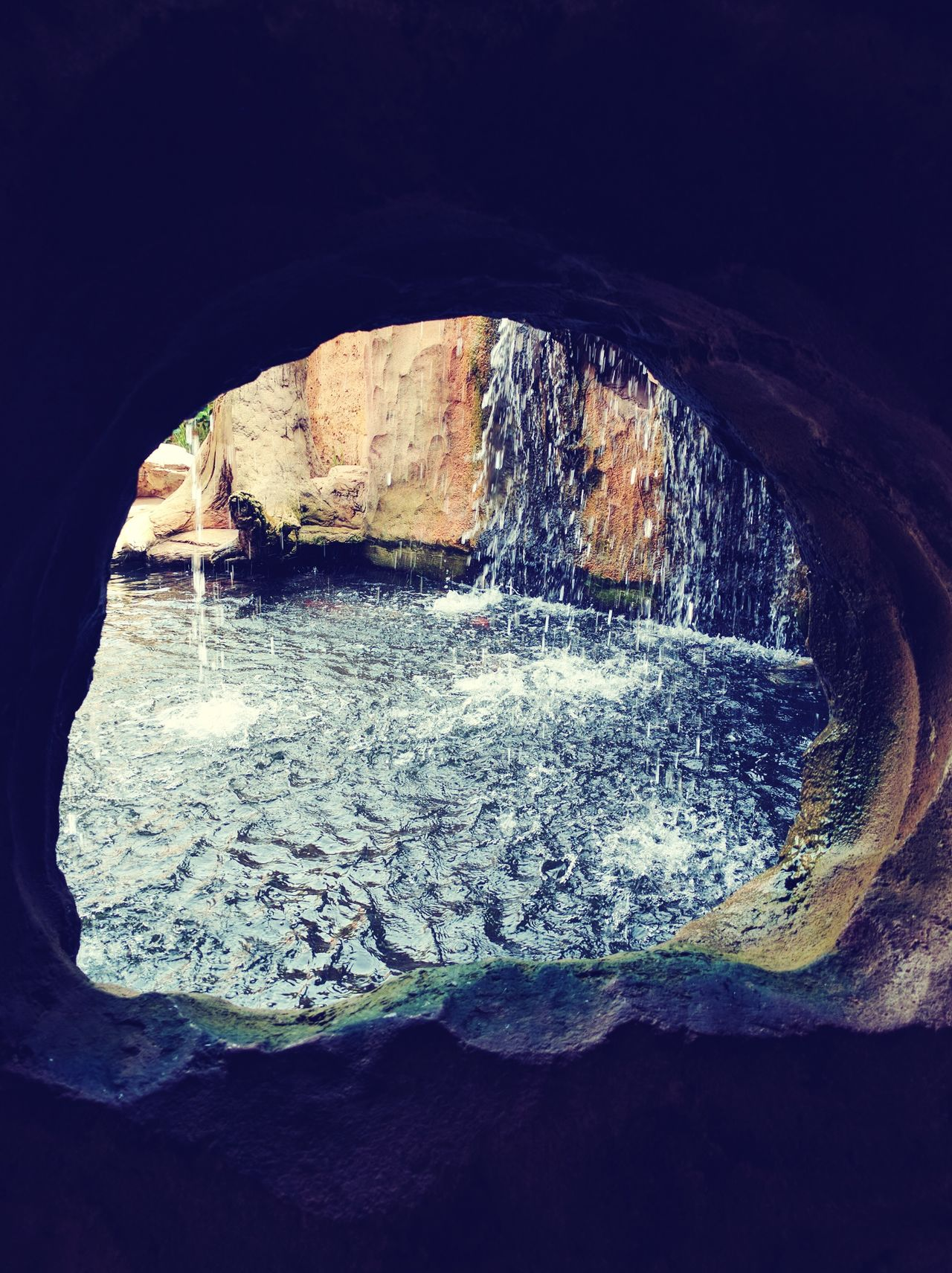 3XSPUnity 3XSPhotographyUnity No People Nature Outdoors Close-up Day Sky Water Waterfall Cave Drops Rocks Wet