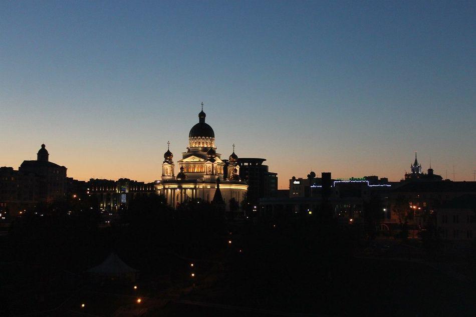 Night Photography Saransk Без фильтра