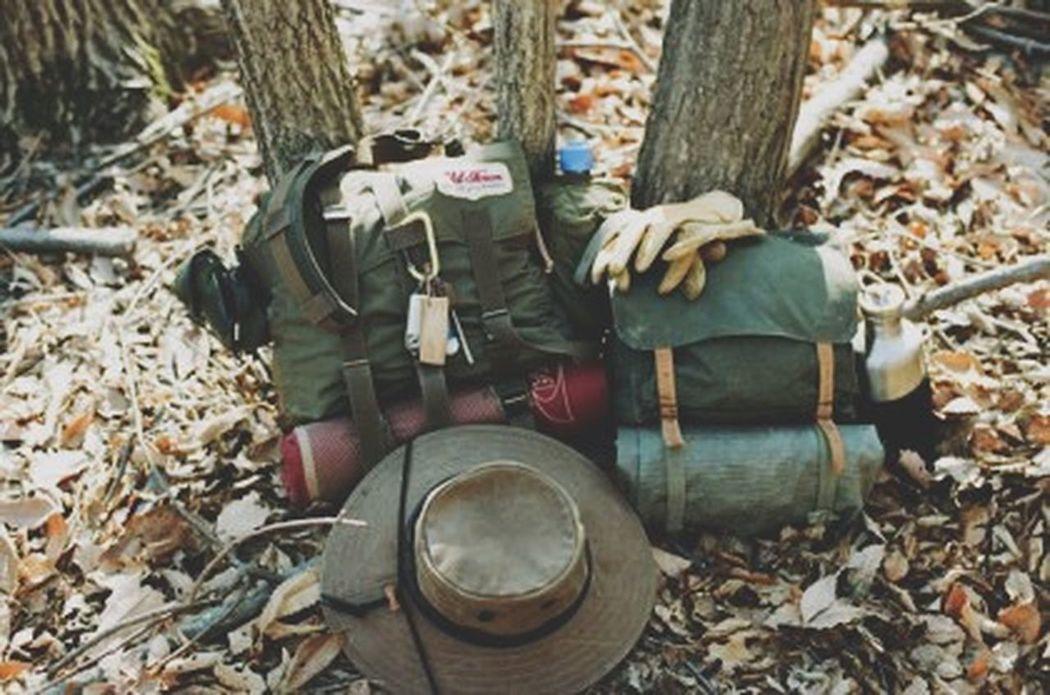 Big Bushhat Bushcraft Canoeist Camping Duluthpack Enjoying Life