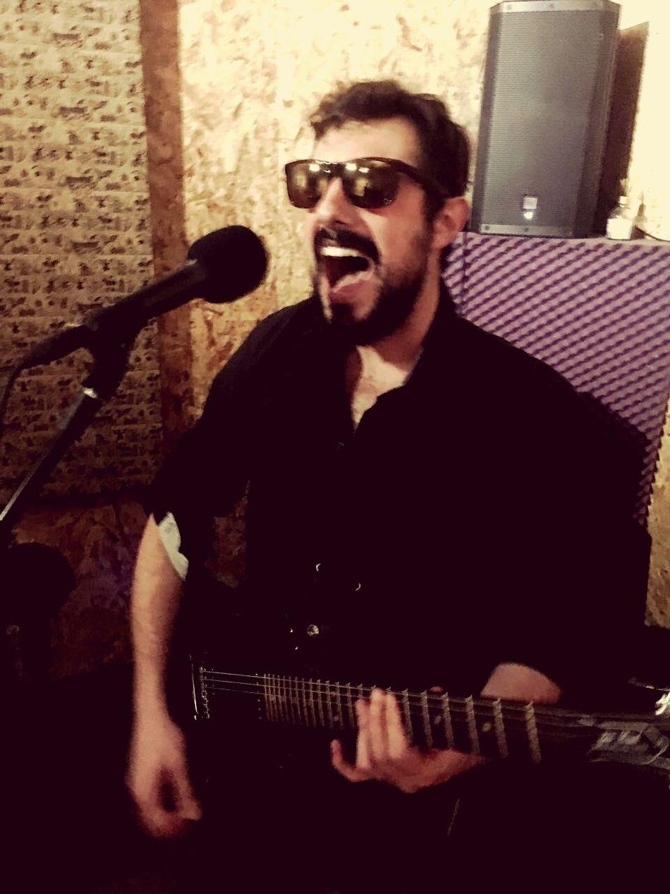 Rocknrollband Guitarist Backingvocals Borntobewild First Eyeem Photo