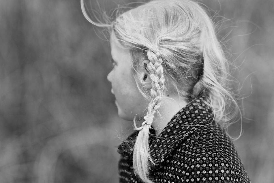 Blond EyeEm Gallery Fashion Focus On Foreground Girl Lifestyles Pigtail Wind Windy Young Women