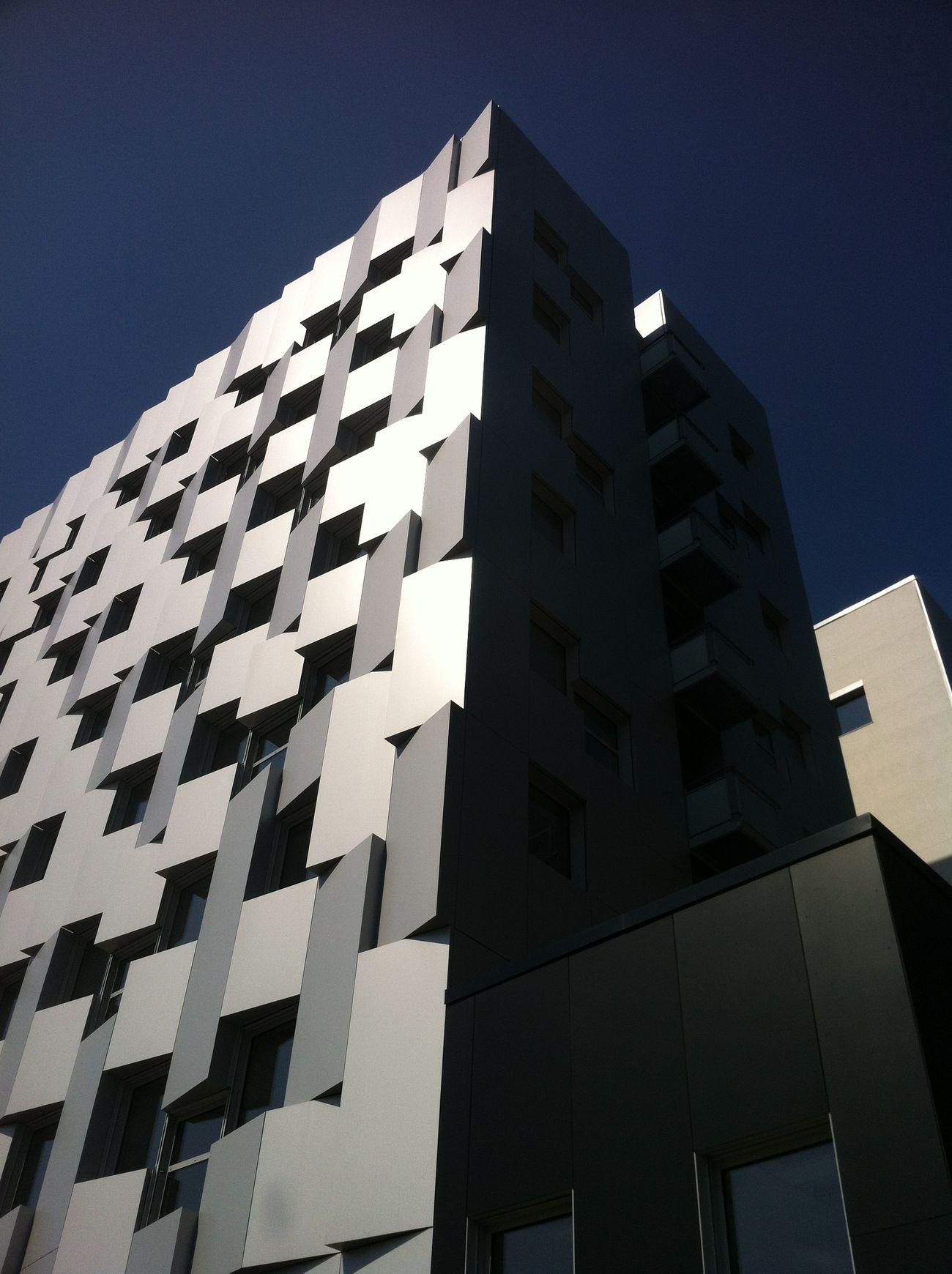 No curves Architecture Lyon Building Urban City