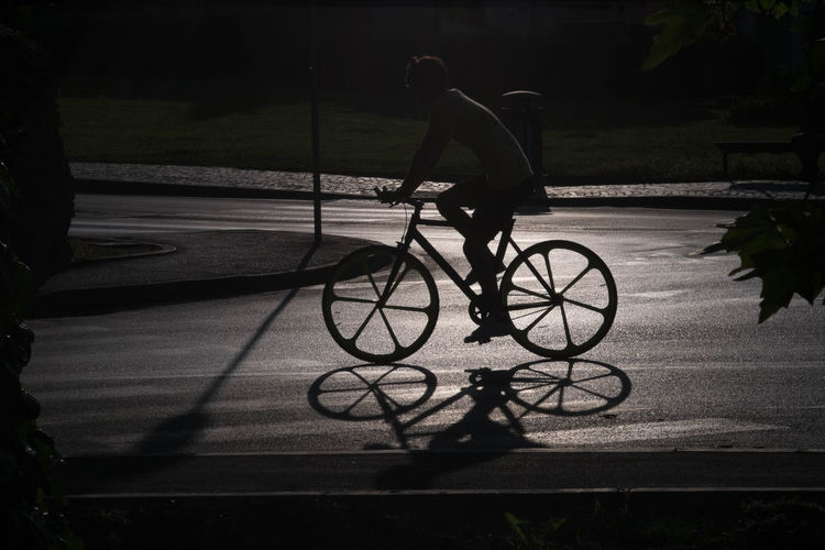Riminicentro Rimini Street Photography Good Evening Contrast Controluce Shadow Shadows Shadow Photography Bicycle Pancolar 80mm F1.8