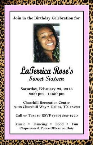 this only for the mertoplex. come help her do it up for sweet sixteen