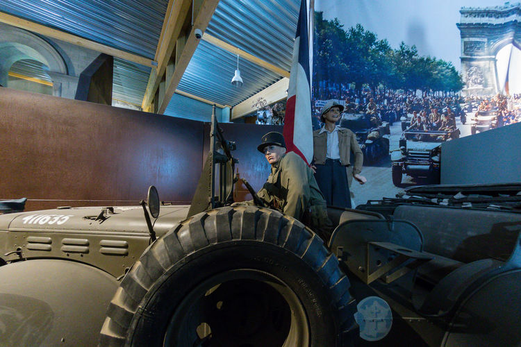 Overlord Museum, Colleville-sur-mer, Normandy, France, July 2017 D-Day Operation Overlord Overlord Museum Education Exhibition Exhibits History Museum Overlord