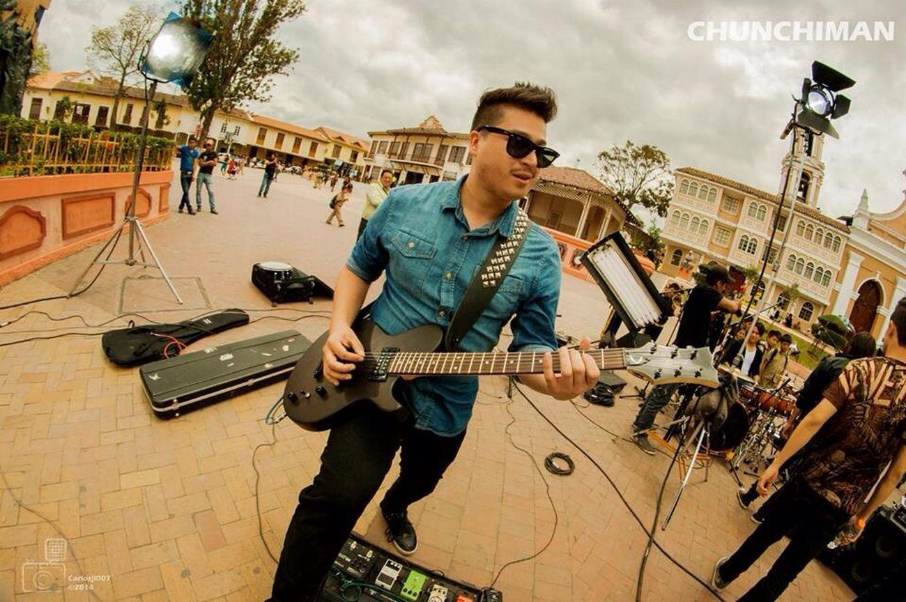 Taking Photos Rock'n'Roll Music Chunchiman