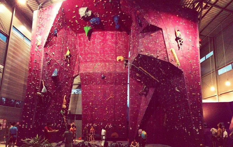 Sports Climbing Climb From Wherre Instand