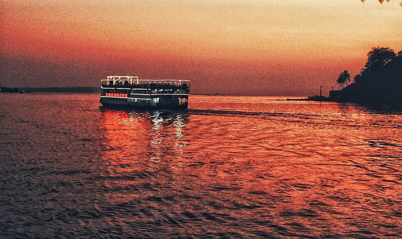Water Sunset Waterfront Transportation Nautical Vessel Reflection Nature No People Scenics Beauty In Nature Outdoors Sky Tranquility Architecture Day EyeEmBestPics HDR EyeEmNewHere Love Red Eeyem Photography Sun