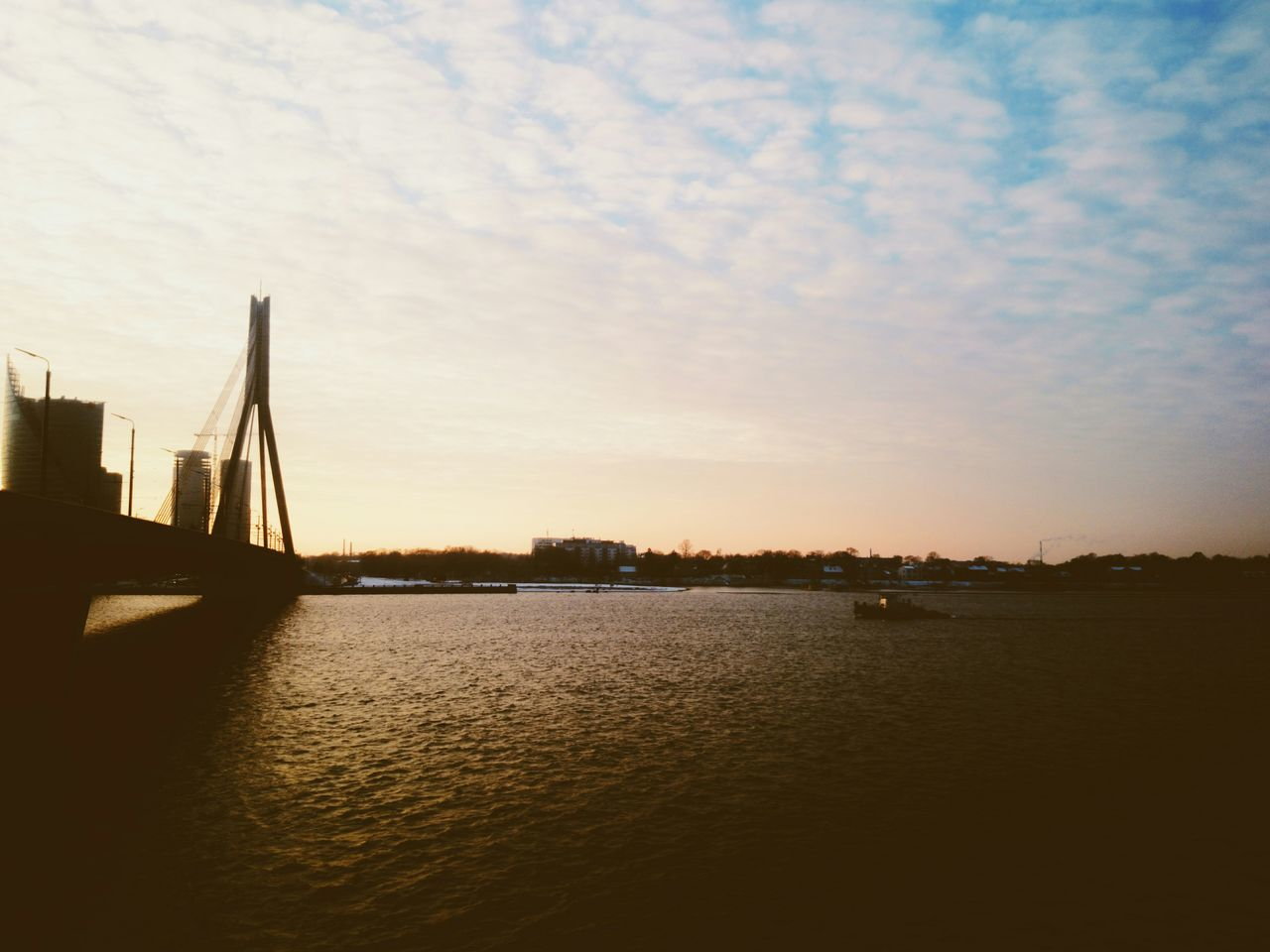 Water Reflections Water_collection Water Taking Photos Sunset Clouds And Sky Latvia Riga Riga Vscocam Eye4photography  EyeEm Best Shots