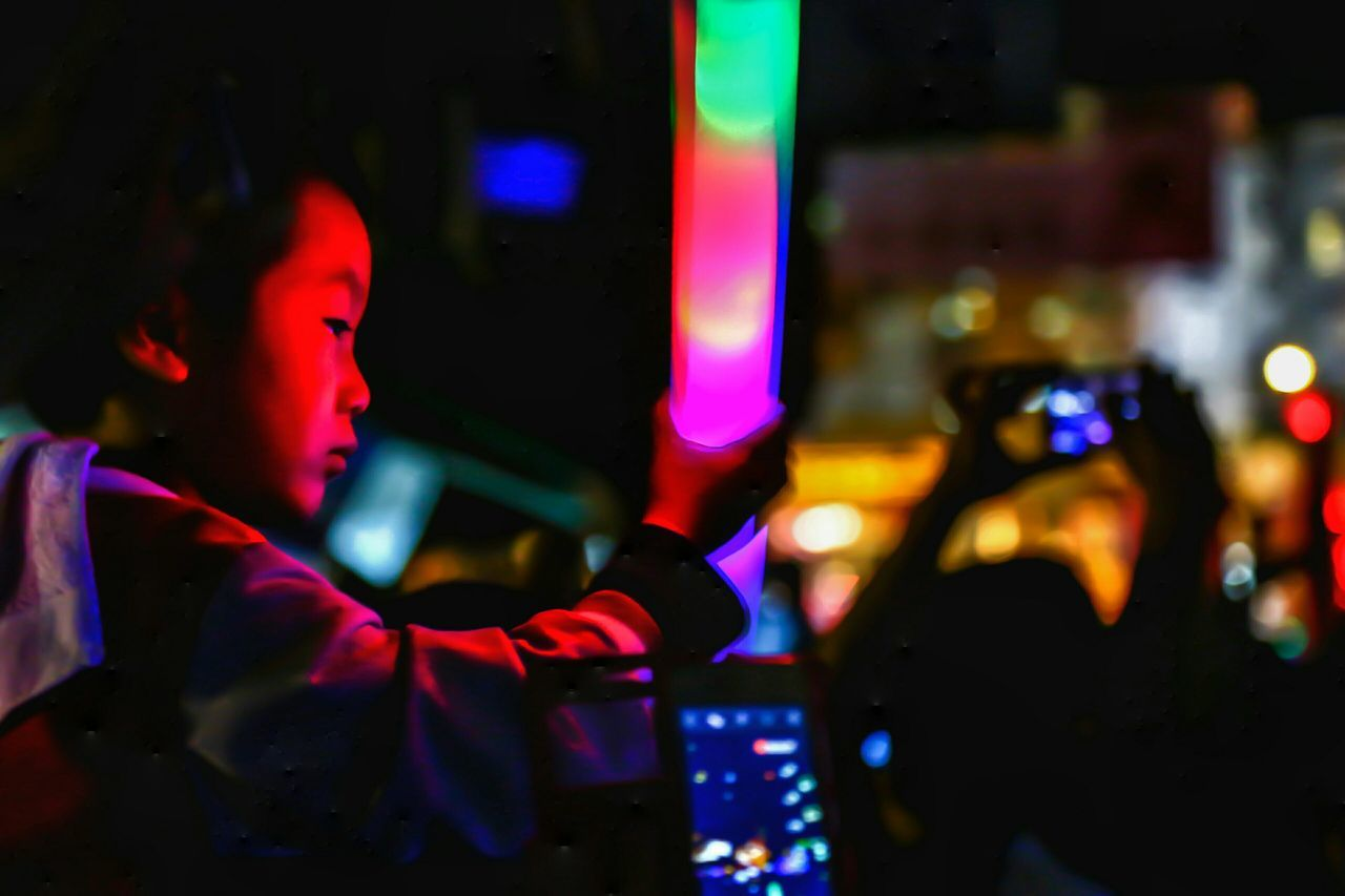 Torch Tai Kok Tsui Temple Fair 2016 Night Lights Kids Photography Night Photography Lowlightphotography Lowlight Light And Shadow Kids Art EyeEm Gallery Capture The Moment Hong Kong Street Photography Cities At Night EyeEm X Huawei - Cities At Night