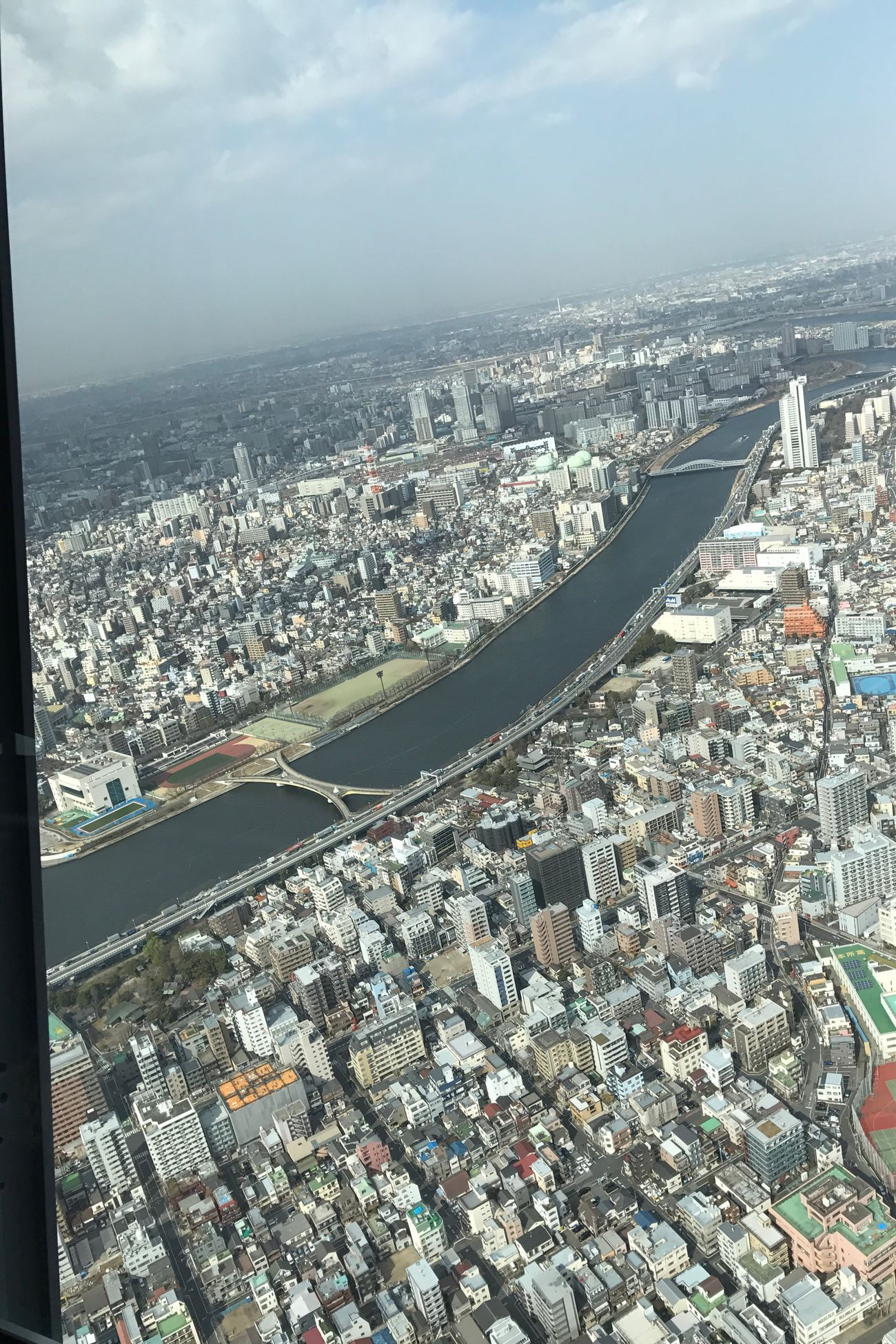 High Angle View Tokyo Sky Tree 450Floor Amazingview 🗼 Eyeemphoto JapanLife Shotfromabove Flying High