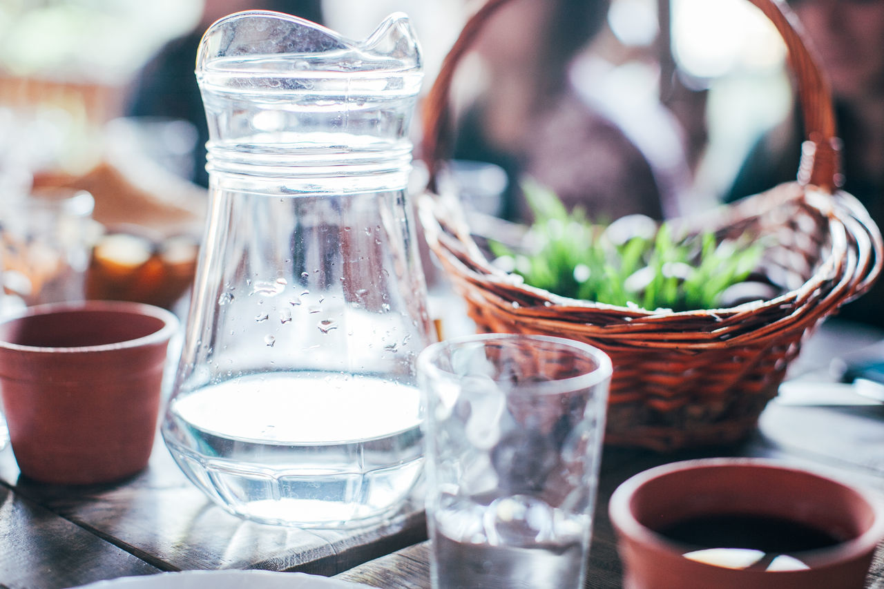Drink Drinking Glass Food Food And Drink Freshness Glass Table Water