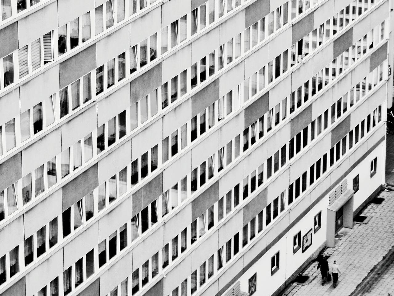 Feeling small Neubrandenburg Architecture Architecture_bw Rentner Melancholy Plattenbau Blackandwhite Black & White EyeEm Best Shots Urbanphotography