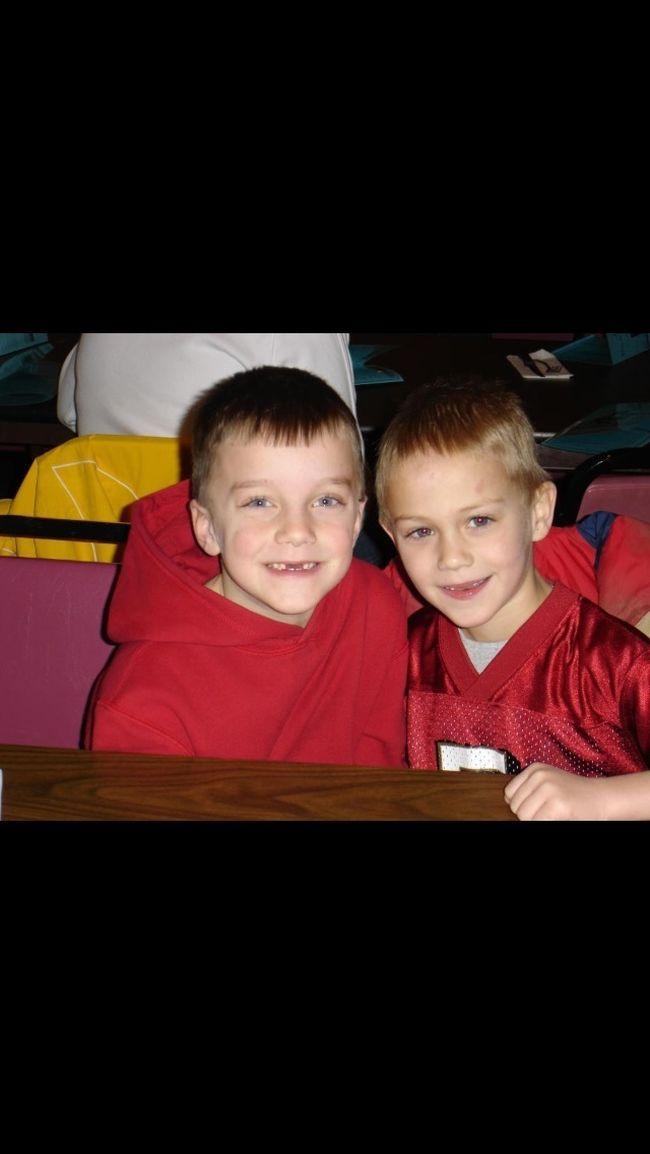 Me And Adam In 1st Grade