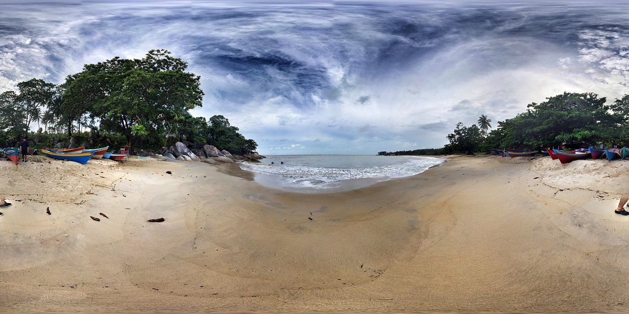 Panoramic Photography Bangka Explorebangka Beach