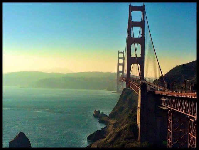 San Francisco Sanfrancisco SanFranciscoBay Golden Gate Bridge Bridge Famous Place California Water Connection Built Structure Tourism Sea Travel Destinations Mountain Scenics Architecture Engineering International Landmark Travel Tranquil Scene Tranquility Clear Sky